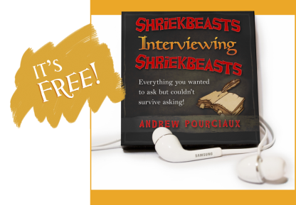 Shriekbeasts Interviewing Shriekbeats Audiobook Cover